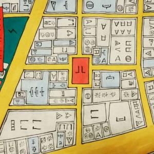 恵比寿,書道教室,現代アート,習字