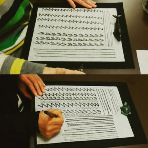 書道教室,習字,筆ペン,ペン字,実用書,美文字